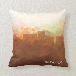 Arlington, Texas Skyline-in den Wolken Kissen