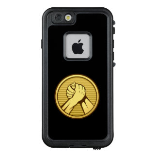 Arm-Wrestling Gold LifeProof FRÄ' iPhone 6/6s Hülle