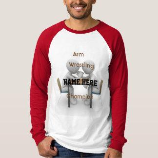 Arm-Wrestling-Meister-T-Stück T-Shirt