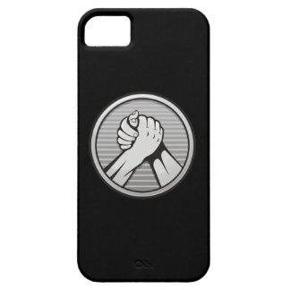 Arm-Wrestling Silber Schutzhülle Fürs iPhone 5