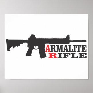 Armalite Gewehr, Wert-Plakat-Papier (Matt) Poster