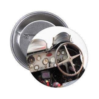 Armaturenbrett und Lenkrad des klassischen Runder Button 5,1 Cm
