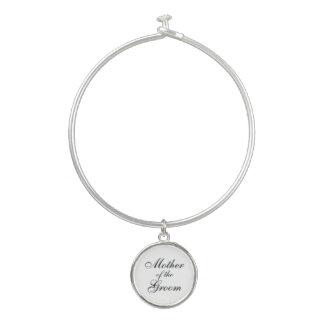 Armband-Armband mit Mutter des Bräutigam-Charmes Armreif