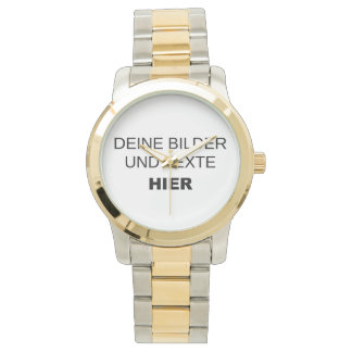 Armbanduhr komplett selbst gestalten