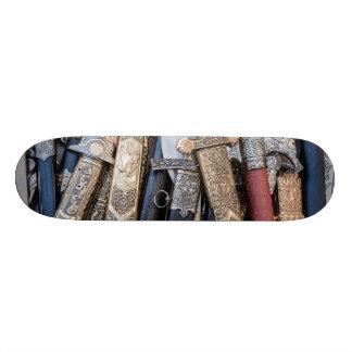 Arme des kalten Stahls 21,6 Cm Skateboard Deck
