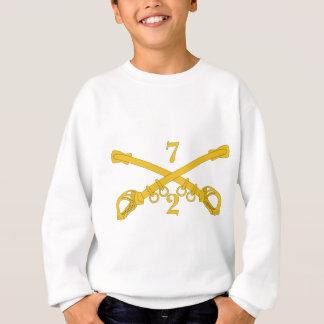 Armee-2. Truppe-7. Kavallerie-Regiment Sweatshirt