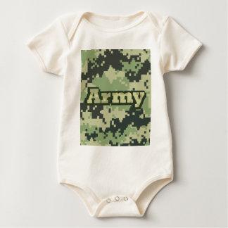 Armee Baby Strampler