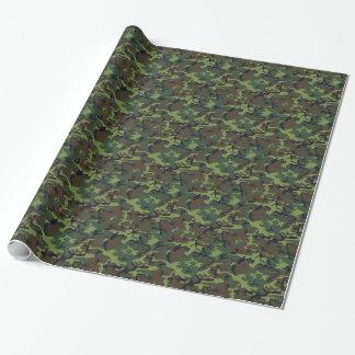 Armee-Camouflage Geschenkpapier