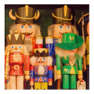 Armee der Weihnachtsnussknacker Acryldruck