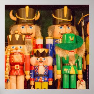 Armee der Weihnachtsnussknacker Poster
