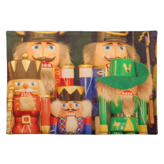 Armee der Weihnachtsnussknacker Stofftischset
