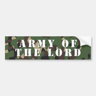 Armee des Lords Autoaufkleber