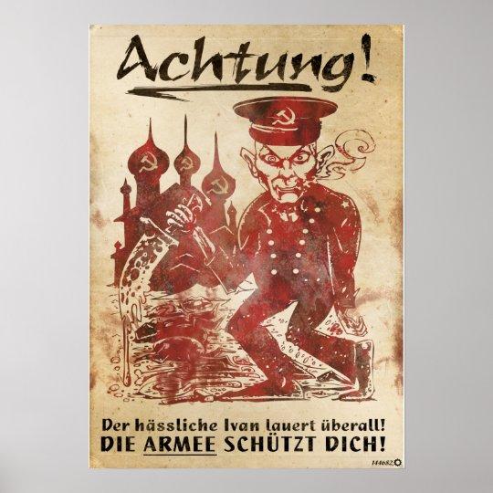 Armee des Stahls - Propaganda Poster