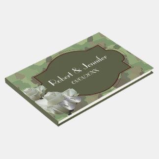 Armee, die themenorientierten Guestbook wedding Gästebuch