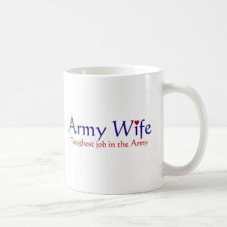 Armee-Ehefrau Kaffeetasse
