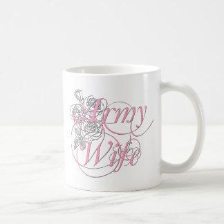 Armee-Ehefrau-Rose Kaffeetasse