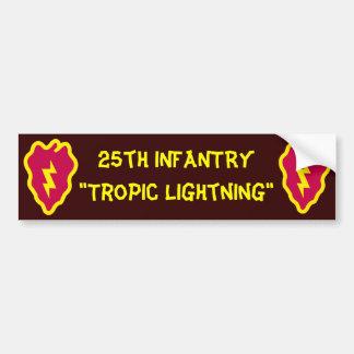Armee-elektrische Erdbeere Autoaufkleber