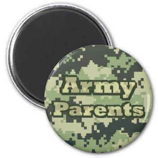 Armee-Eltern Runder Magnet 5,1 Cm