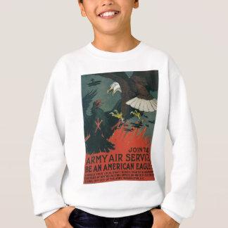 Armee-Fluglinienverkehr circa 1917 Sweatshirt