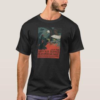 Armee-Fluglinienverkehr circa 1917 T-Shirt
