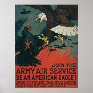 Armee-Fluglinienverkehr Posterdrucke