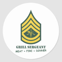 Armee-Grill-Sergeant