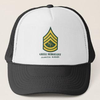 Armee-Grill-Sergeant Truckerkappe