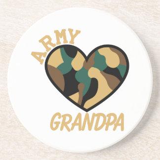 Armee-Großvater Untersetzer