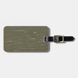 Armee-grüne Baumrinde Kofferanhänger