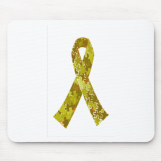 Armee-grünes Puzzle-Muster-Band Mousepads