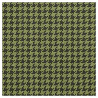 Armee-grünes und schwarzes stoff
