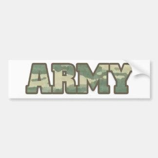 Armee in der Camouflage Autoaufkleber