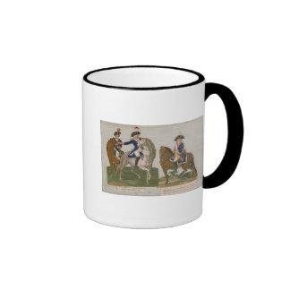 Armee-Kommandant und ein Offizier Kaffeehaferl