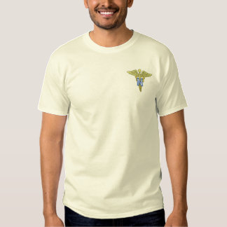 Armee-Krankenschwester-Korps-Offizier Besticktes T-Shirt