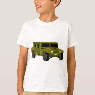 Armee-LKW-Cartoon-Zeichnen T-Shirt