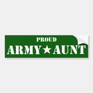 Armee-Tantengrün Autoaufkleber