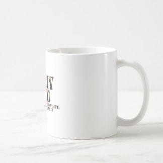 Armee-Vati - antwortender Anruf Kaffeetasse