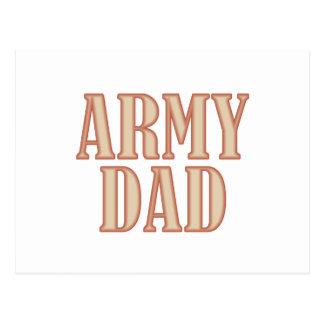 Armee-Vati TAN Postkarte