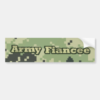 Armee-Verlobtes Autoaufkleber