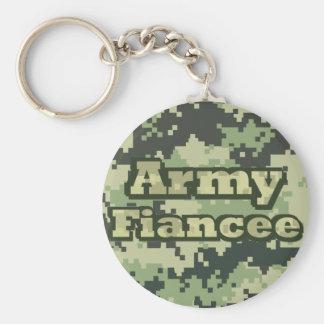 Armee-Verlobtes Schlüsselanhänger