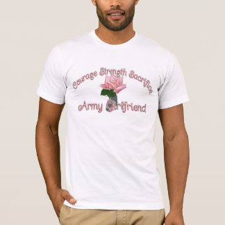 Armeefreundin-Rose dogtags T-Shirt