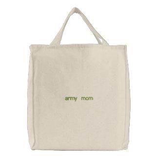 Armeemama Bestickte Taschen