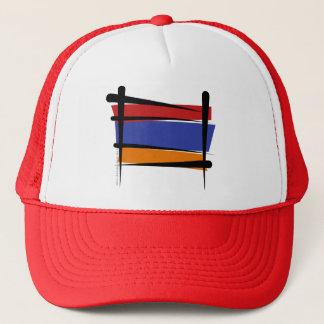 Armenien-Bürsten-Flagge Truckerkappe