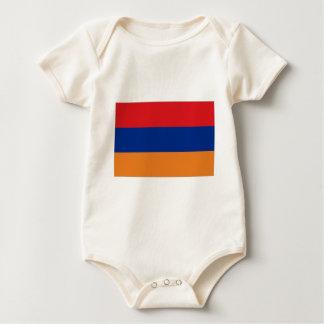Armenien-Flagge Baby Strampler