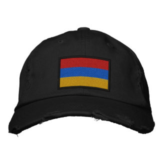 Armenien-Flagge Bestickte Baseballkappe