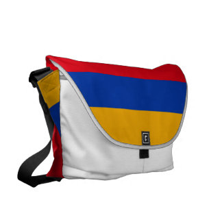 Armenien-Flagge Kuriertaschen