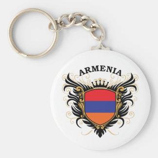 Armenien Standard Runder Schlüsselanhänger