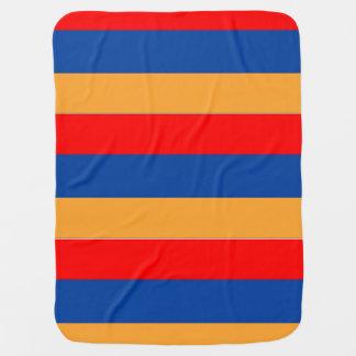 Armenische Flagge Babydecke