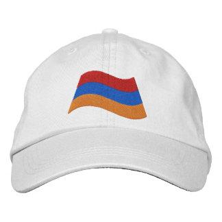Armenische Flagge Bestickte Kappe