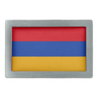 Armenische Flagge Rechteckige Gürtelschnalle